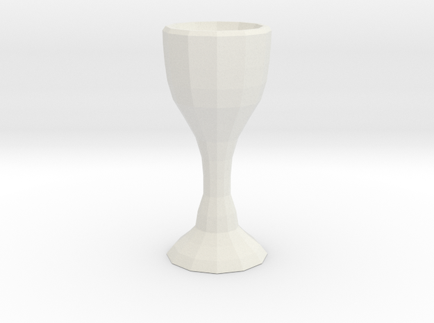 Classy Glass Exclusive Design in White Natural Versatile Plastic