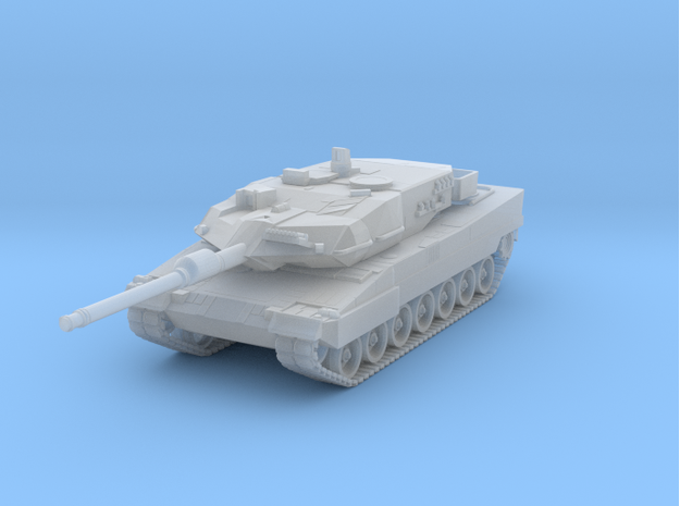 Leopard 2a7 Scale 1:160 in Smooth Fine Detail Plastic