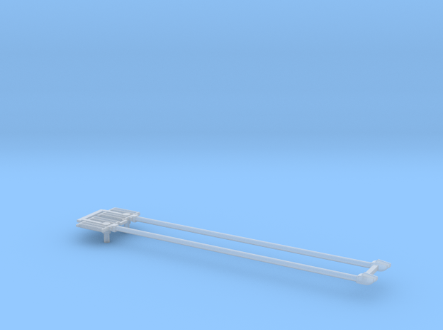 CTA 4000 Series Trolley Pole Pair in Smooth Fine Detail Plastic