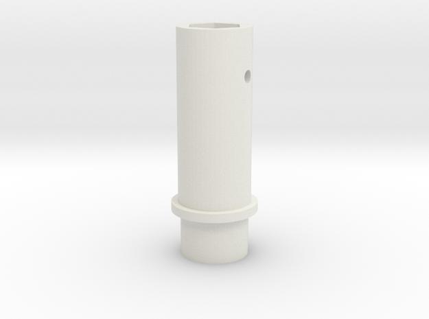 Pen holder for Gondola for polargraph/hanging v pl in White Strong & Flexible