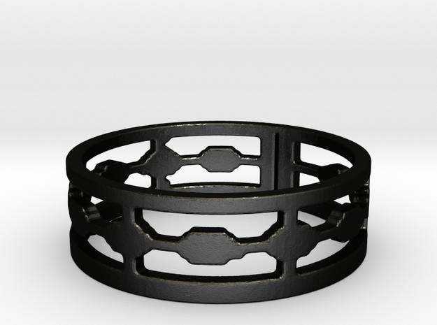 Shuko Fences (Size 6.5) in Matte Black Steel
