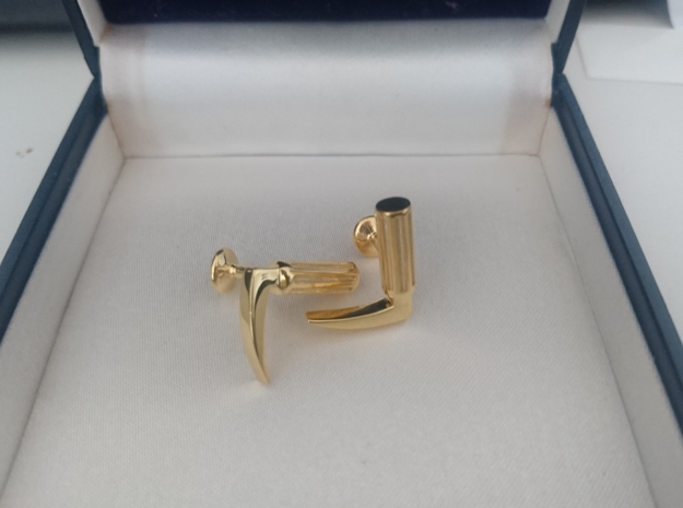 Laryngoscope cufflinks