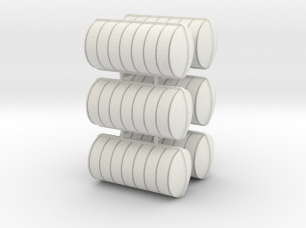 Liferaft 28x13 (6 pcs) in White Natural Versatile Plastic