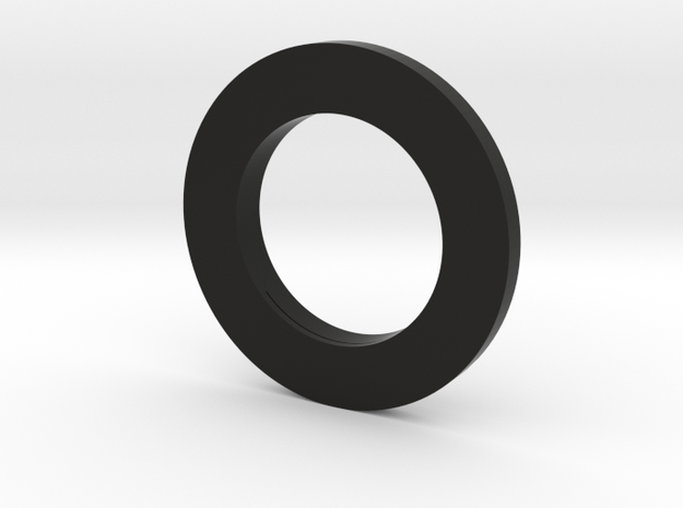 51mm dia lens to 80mm matte box adapter (51.80) v2 in Black Natural Versatile Plastic