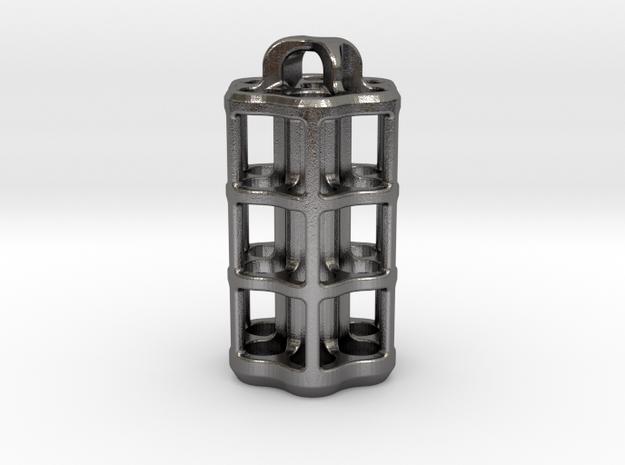 Tritium Lantern 5D (3.5x25mm Vials) in Polished Nickel Steel