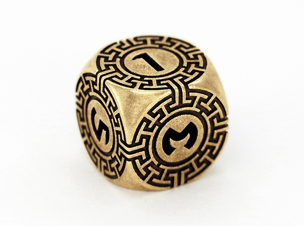 Daedalus D6 in Polished Brass