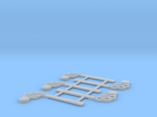 S Scale B&M TO Semaphore Square in Smooth Fine Detail Plastic