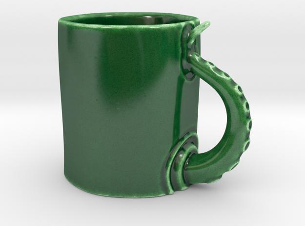 Oct Mug in Gloss Oribe Green Porcelain