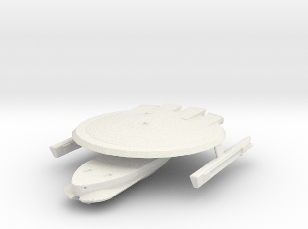 Uss lions claw in White Natural Versatile Plastic