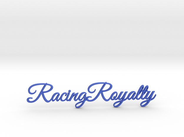 Racing Royalty 2 in Blue Processed Versatile Plastic