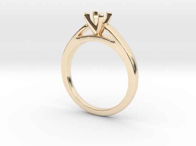 classic 4 prong in 14K Gold