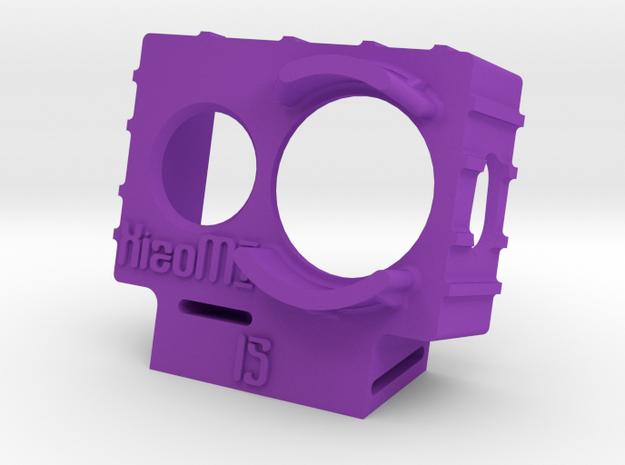XiaoMI Yi Wedge Case (15deg) in Purple Strong & Flexible Polished