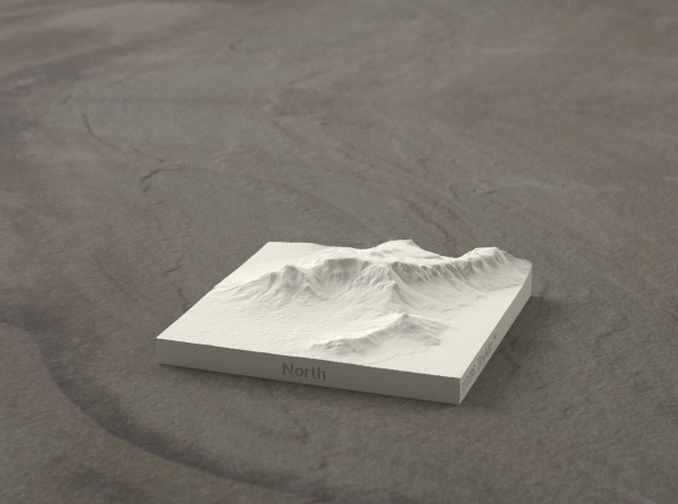 3''/7.5cm Table Mountain, South Africa in Natural Sandstone