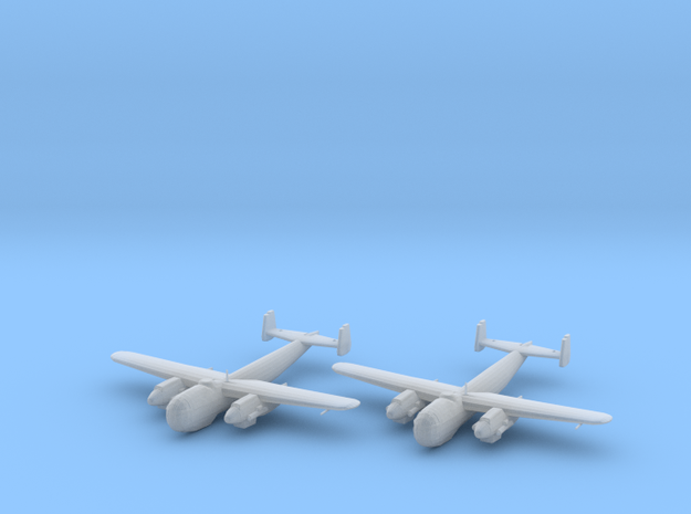 Dornier Do 217 M-1 1:200 x2 FUD in Smooth Fine Detail Plastic