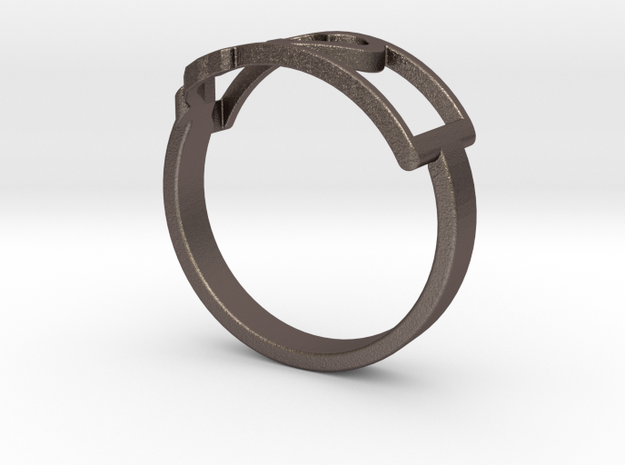 Montana Ring Size 7 in Stainless Steel