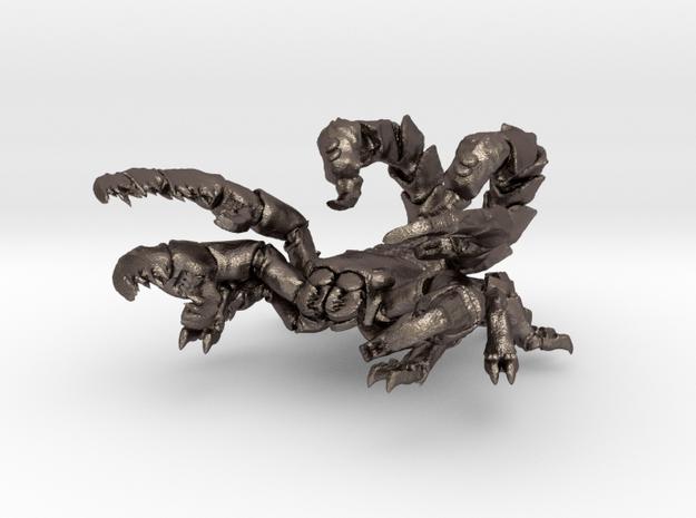 Skorpiongott 08 in Polished Bronzed Silver Steel