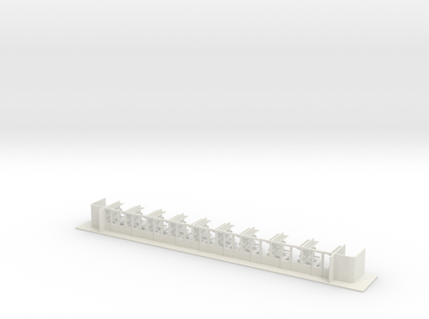 #12B - 51 81 39-40 007 Innenausbau in White Natural Versatile Plastic