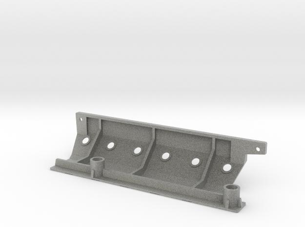 Skid plate left Adventure D90 Gelande 1:10 in Metallic Plastic