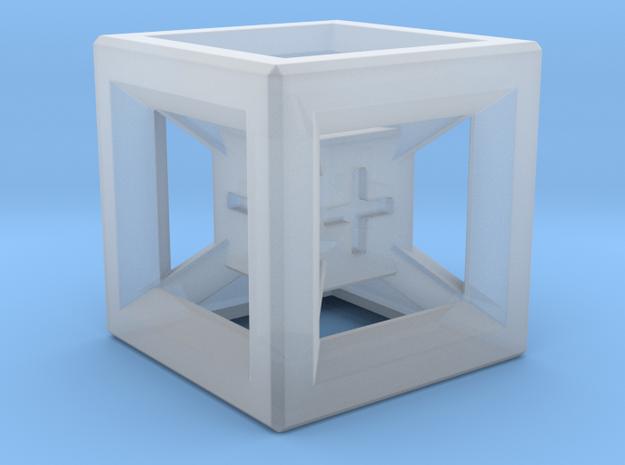Fudge Dice Hypercube 1.5cm (D3)