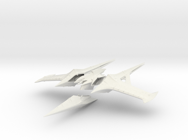 Agonarch Karve Ship Kit in White Natural Versatile Plastic
