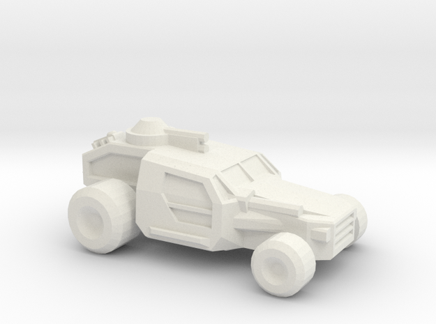 Thunder Road Buggy  in White Strong & Flexible