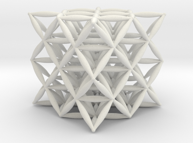 Flower Of Life 64 Tetrahedron Grid