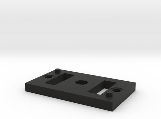 Kodak sp 360 dual camera holder with tripod mount in Black Strong & Flexible