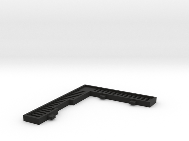 V1511161 (3 van 3) Villa Monster zonwering2 1:200 in Black Natural Versatile Plastic