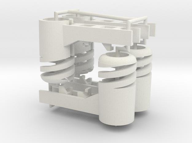 Crazyflie 2.0 spring motor mount (4x)