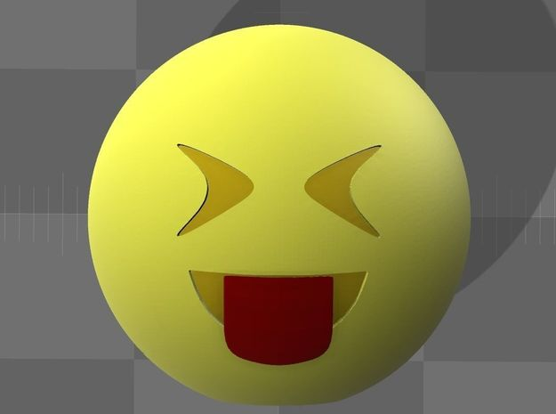 Emoji3 in Full Color Sandstone