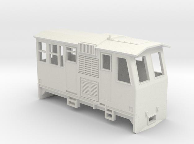 HOn30 Control Car (Kate 3P) in White Natural Versatile Plastic