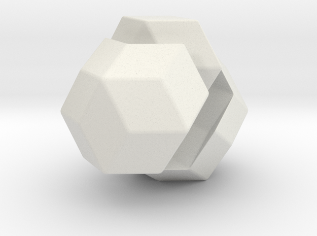 Exploded Rhombic Triacontahedron