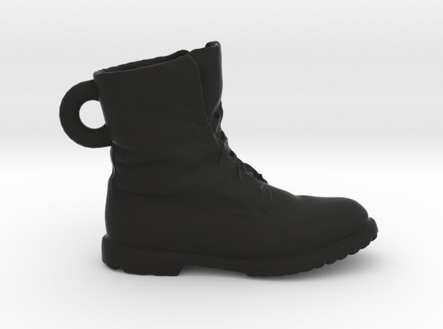 Timberland Shoe Keychain in Black Natural Versatile Plastic