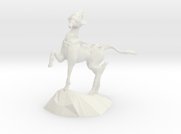 Scout Horse in White Strong & Flexible