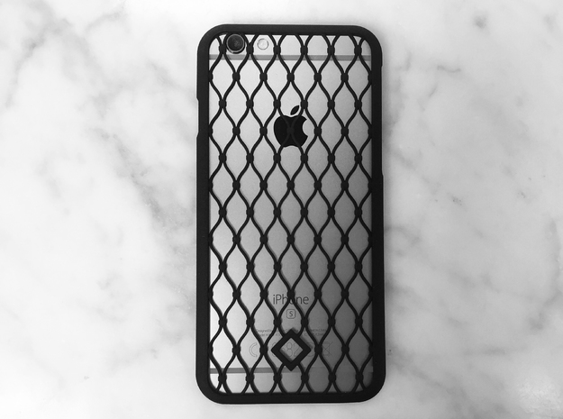 Fence - iPhone 6 Case in Black Strong & Flexible