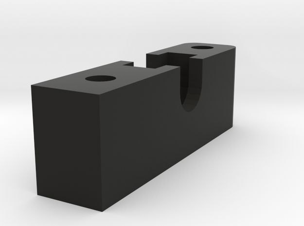 Housing for drive shaft CC01 to D110 Gelande 1:10  in Black Natural Versatile Plastic