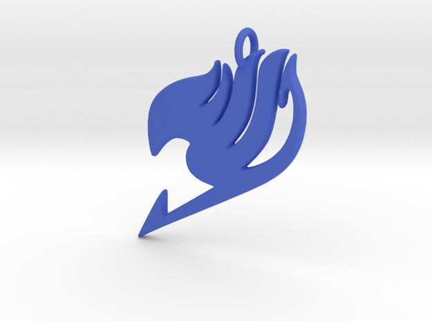 Ftail Pendant in Blue Processed Versatile Plastic