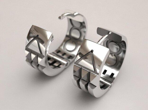 Atlantis Earrings in Stainless Steel