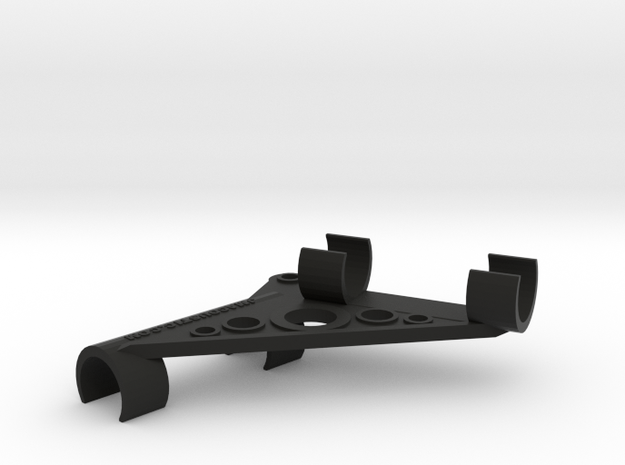 ORTF Stereo Mic Clip 21mm  in Black Strong & Flexible