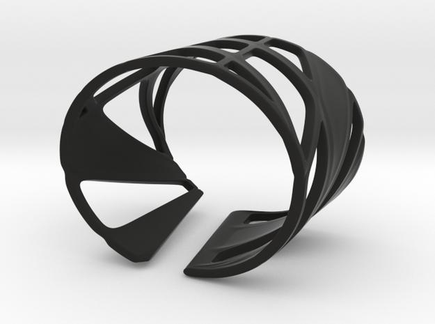 Trouble (size M) in Black Natural Versatile Plastic
