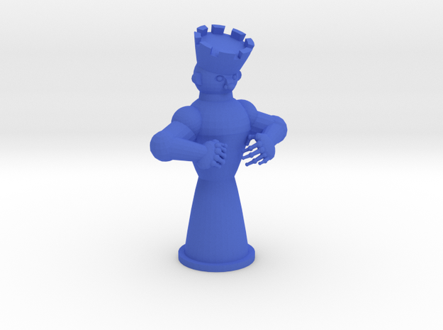 Kinga in Blue Processed Versatile Plastic