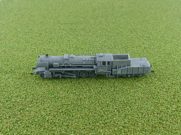 German BR 52 Steamloco w. K 4 T 30 Tender 1/285