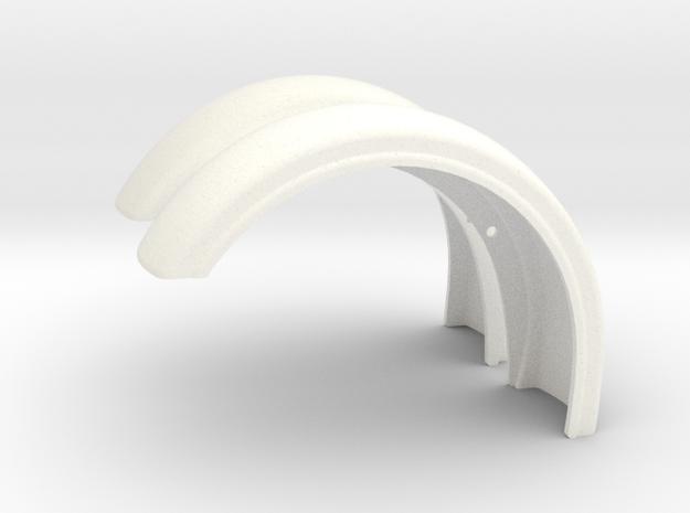 Pete Custom Fender style 2 in White Processed Versatile Plastic