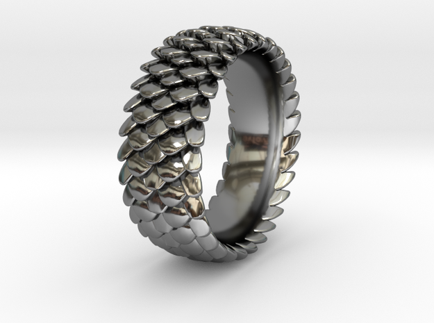 Scale Ring 2016 Size 11 in Premium Silver