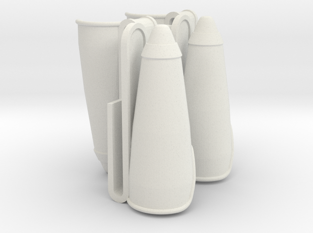 FP Holster 4x SF in White Strong & Flexible