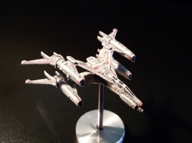 Thunderbolt MKII Starfury in Frosted Ultra Detail
