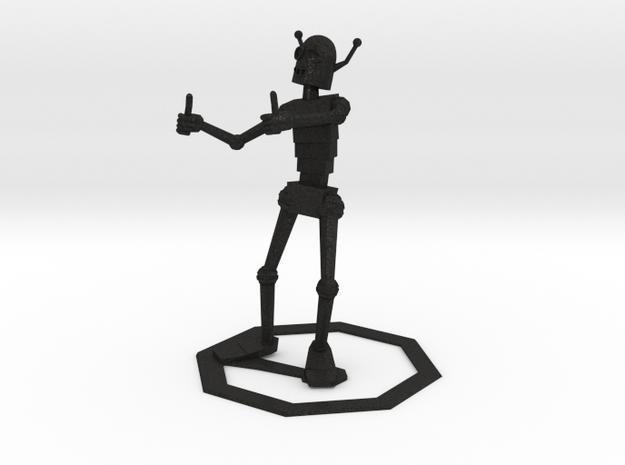 Encouraging Robot 3d printed