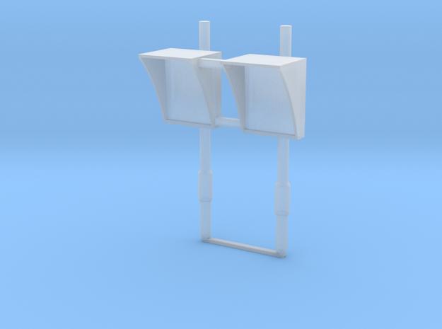 N-02 N Gauge (1:148) DOO MIrrors (Pair) in Smooth Fine Detail Plastic