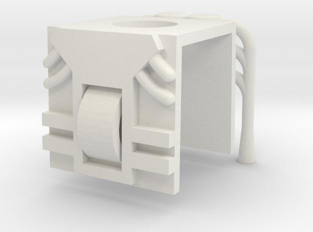 Dragstor in White Natural Versatile Plastic