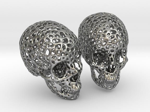 Human Skull Voronoi Style